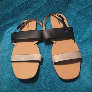 Flat sandals from Express